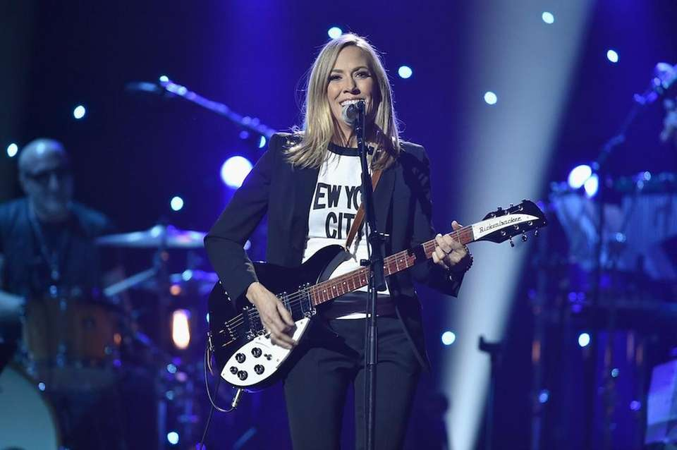 Singer-songwriter Sheryl Crow (born Feb. 11, 1962, and