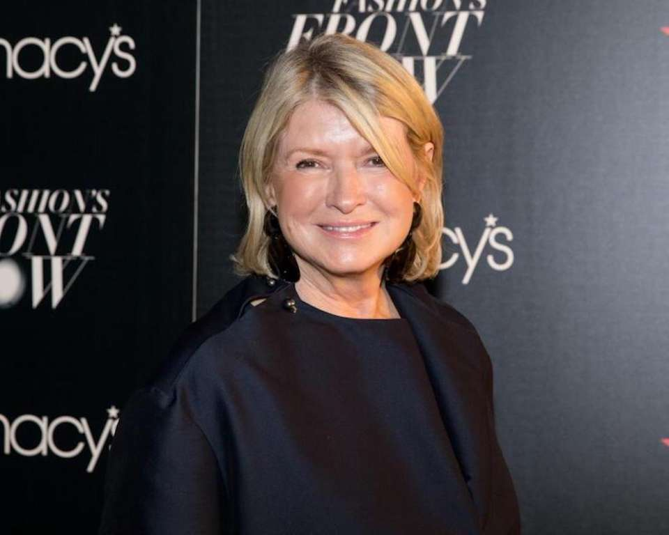 Lifestyle guru Martha Stewart (born Aug. 3, 1941,