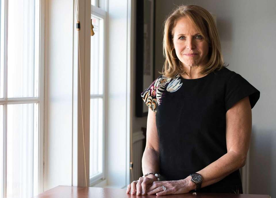 Journalist Katie Couric (born Jan. 7, 1957, and