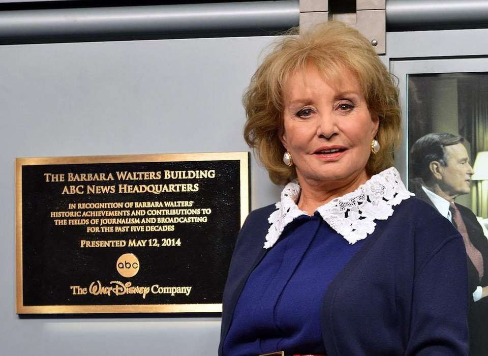 Journalist Barbara Walters (born Sept. 25, 1929 in