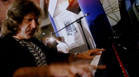 Musician Keith Emerson of Emerson, Lake and Palmer,