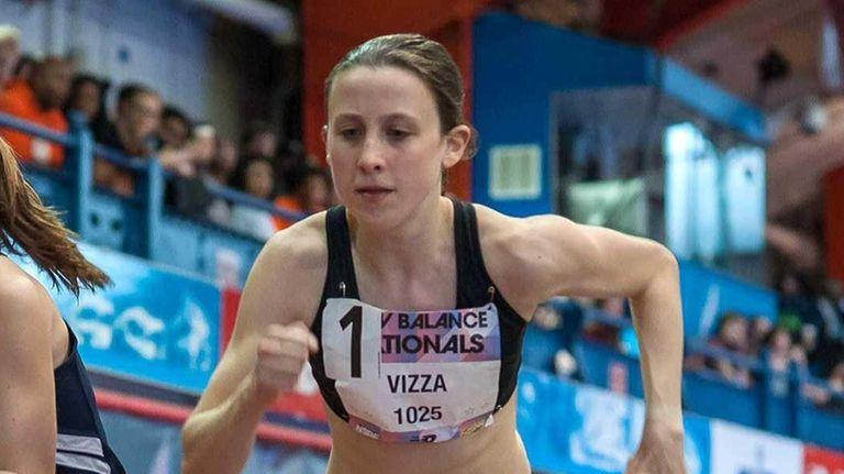 North Shore's Diana Vizza (right) at the start