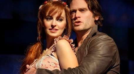 Ahna O'Reilly and Steven Pasquale in