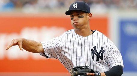Rob Refsnyder #64 of the New York Yankees