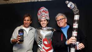 Chris Russo and Mike Francesa have pictures taken