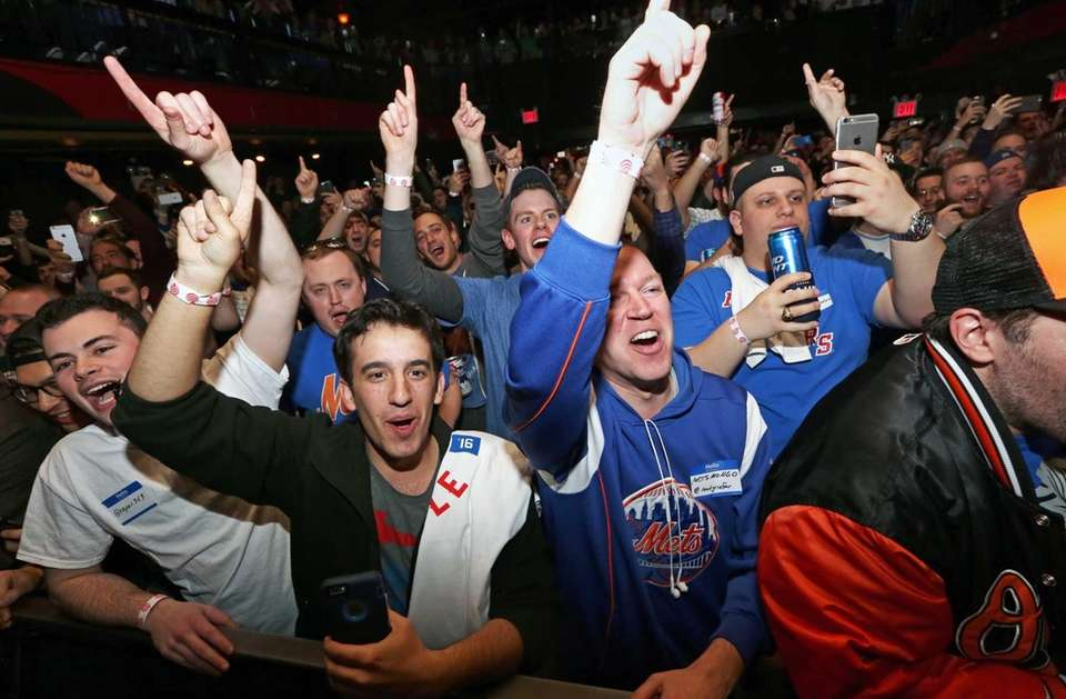 Mike Francesa fans gathered at Irving Plaza to