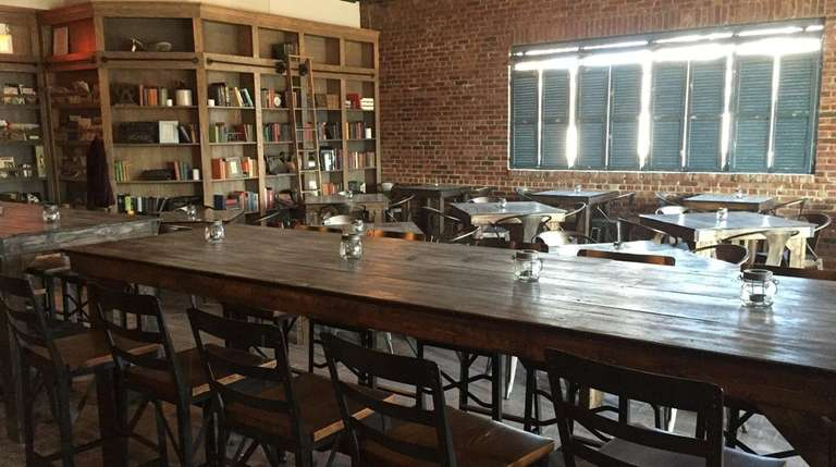 Beginnings, a literary-themed bar and restaurant, has opened