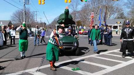 Westhampton Beach St. Patrick's Day Parade grand marshal