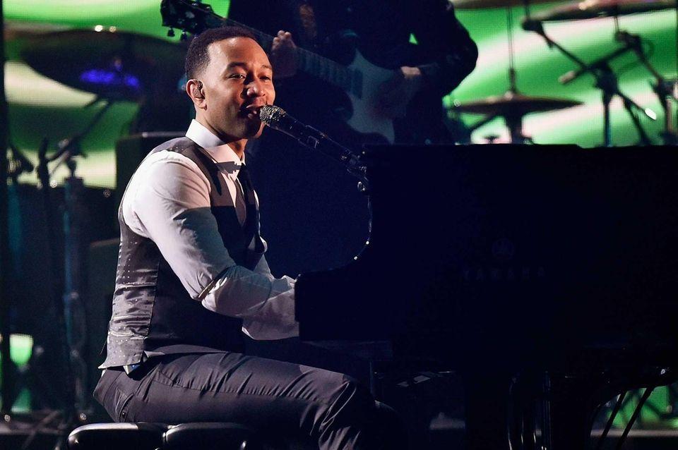 Singer-songwriter John Legend called Trump