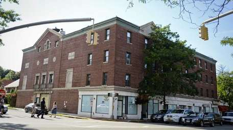 The historic First Playhouse Theater in Great Neck