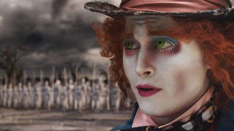 Johnny Depp, as The Mad Hatter, was certainly