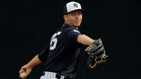 New York Yankees relief pitcher Chasen Shreve