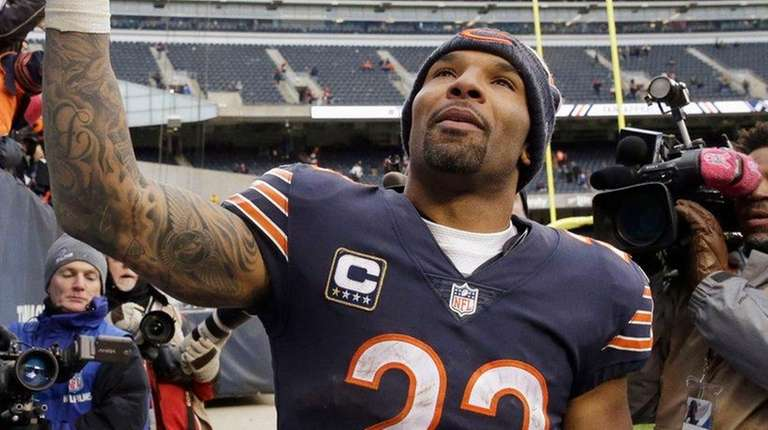 Former Chicago Bears running back Matt Forte