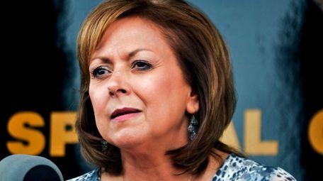 New Mexico Gov. Susana Martinez speaks at a