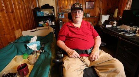 Vietnam War vet Walter Schmidt, 69, the director