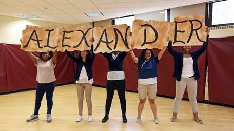 Bay Shore High School students created a dance