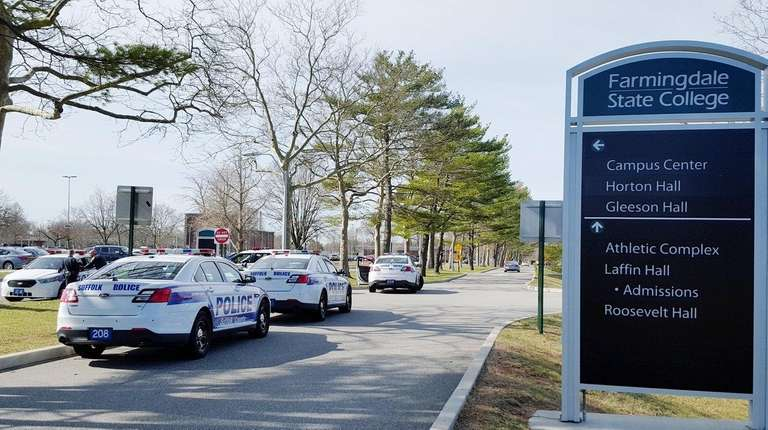 Suffolk County respond to a 911 call at