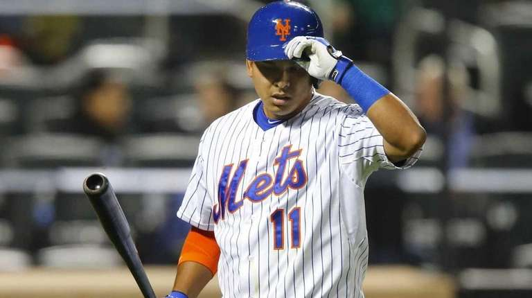Ruben Tejada of the New York Mets