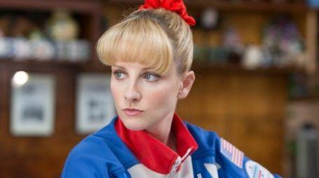 Melissa Rauch plays former Olympic gymnast Hope Ann
