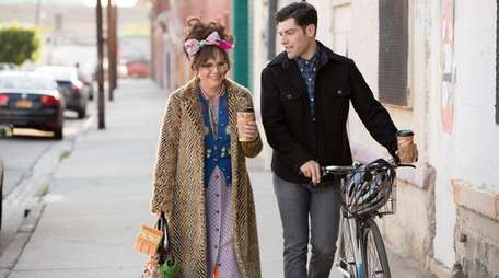 Sally Field, left, stars with Max Greenfield in