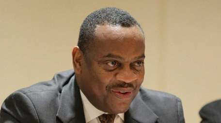 Kenneth Saunders, currently executive vice president at Nassau