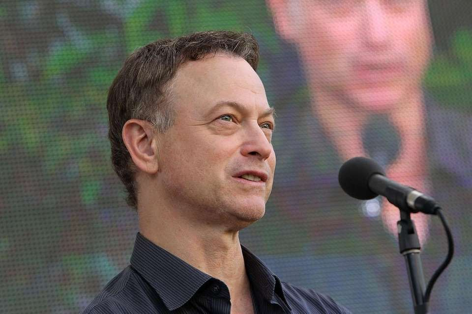 Actor Gary Sinise, born March 17, 1955.