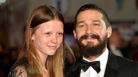 Mia Goth and Shia LaBeouf have upcoming movies,