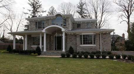 A new house in the Country Club section