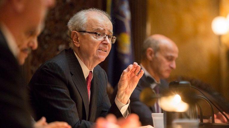 Retired Court of Appeals Chief Judge Jonathan Lippman,
