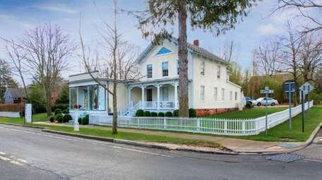 Two separate 19th century buildings in Sag Harbor,