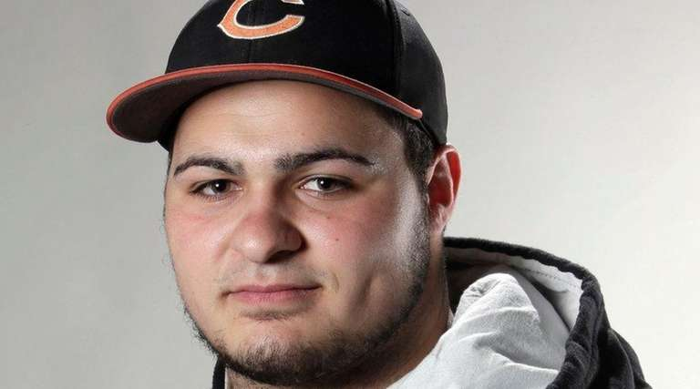 Carey pitcher/first baseman Anthony Catapanohit eight home