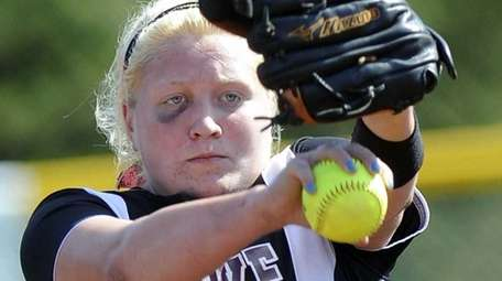 Clarke's Sarah Cornell pitches against Starpoint during