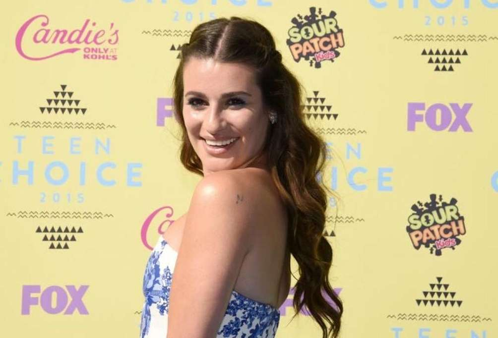 Actress Lea Michele says she fluctuates between being