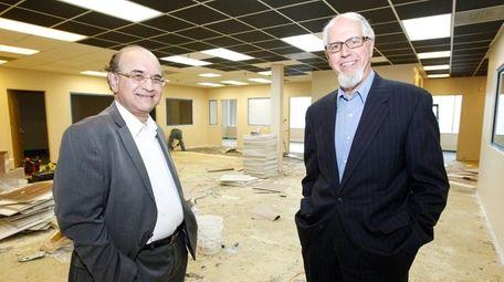 Raj Mehta, CEO of Infosys International, and Peter