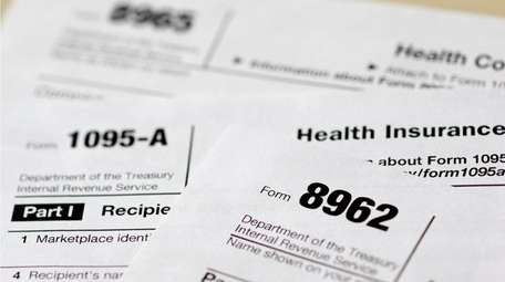 A variety of health care tax forms are