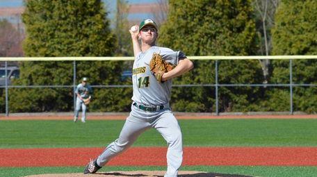LIU Post pitcher Jake DiCarli