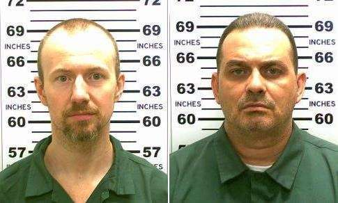 Two of the most recent prison escapees, David
