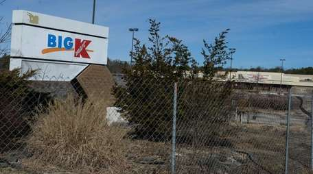 The abandoned Big K-Mart store on Middle Country