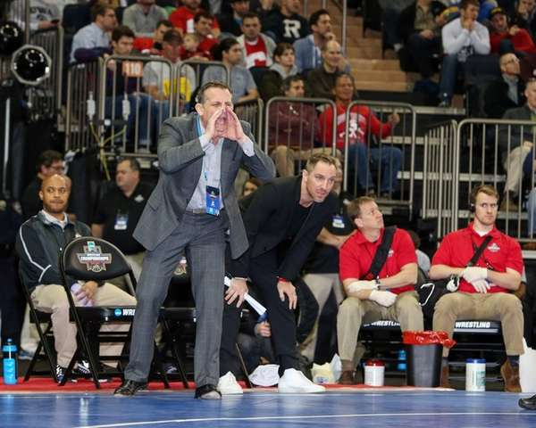 Ohio State wrestling coach Tom Ryan, of Wantagh,