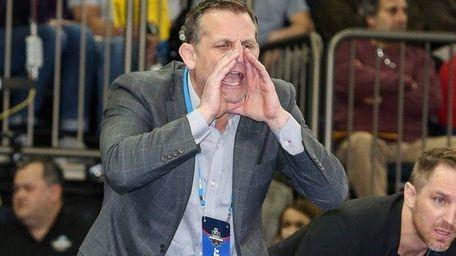 Ohio State wrestling coach Tom Ryan, of Wantagh,