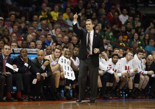 Head coach Mark Turgeon of the Maryland Terrapins