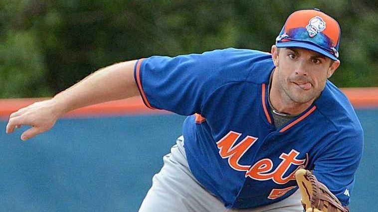 New York Mets third baseman David Wright catches