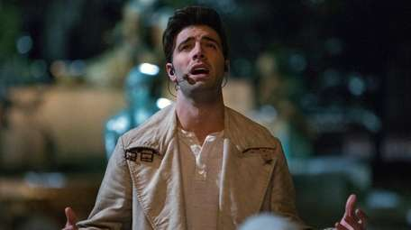 Jencarlos Canela plays Jesus in Tyler Perry's showing