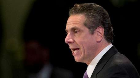 Gov. Andrew Cuomo is seen in an undated