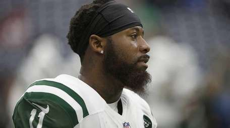 Jeremy Kerley #11 of the New York