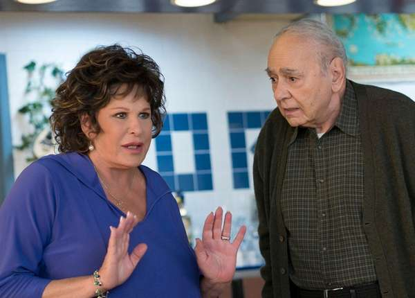 Lainie Kazan and Michael Constatine star in the