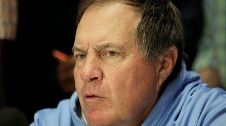 New England Patriots football head coach Bill