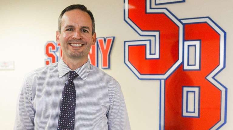 Stony Brook University Athletic Director Shawn Heilbron in