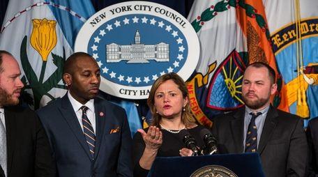New York City Council Speaker Melissa Mark-Viverito with