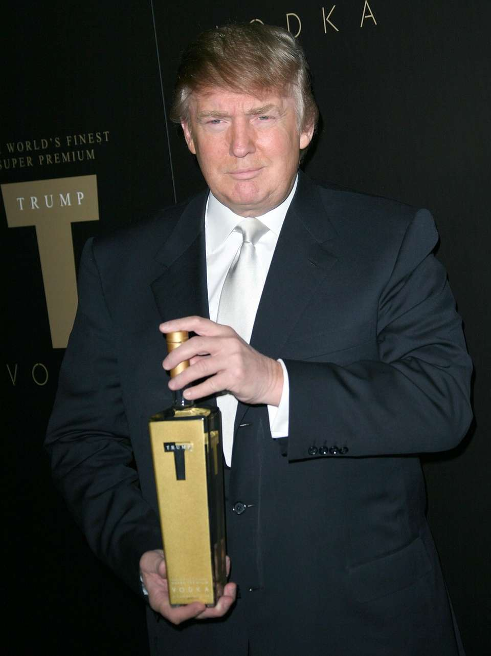 With the launch of Trump Vodka, the billionaire